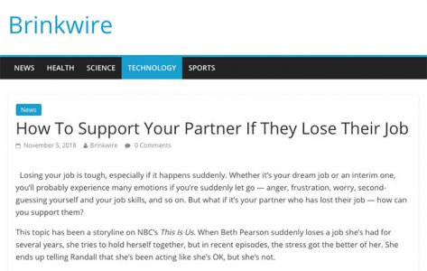 How To Support Your Partner If They Lose Their Job
